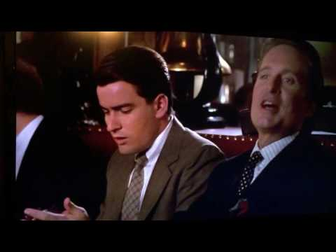 Wall Street - Lunch Scene with Gordon Gekko