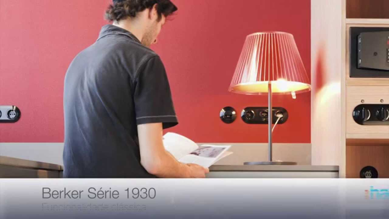 berker s rie 1930 youtube. Black Bedroom Furniture Sets. Home Design Ideas