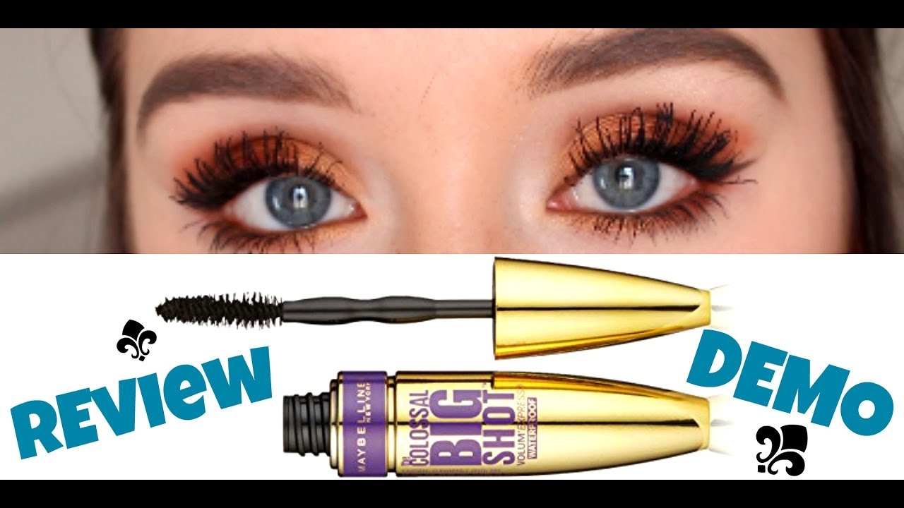 93ada57789f MAYBELLINE COLOSSAL BIG SHOT MASCARA REVIEW + DEMO | Haleigh Amend ...