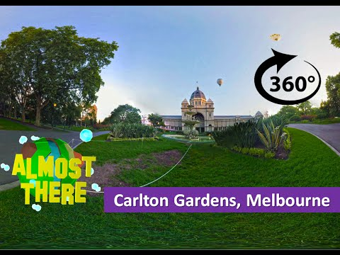 Carlton Gardens Melbourne 360 & Time Lapse