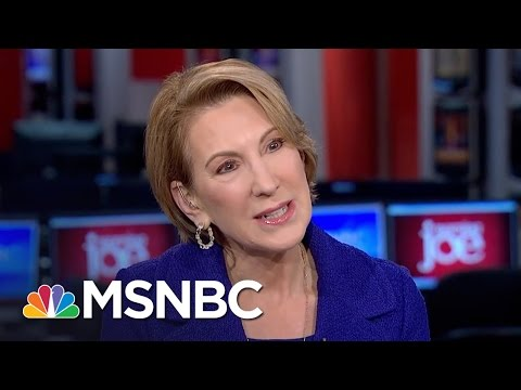 Carly Fiorina: Donald Trump Is In A Position To