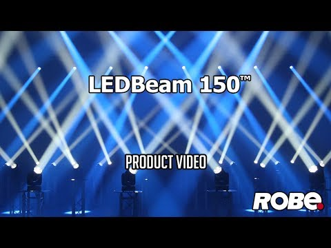 e37f4c723d9 ROBE lighting - LEDBeam 150 product video - YouTube