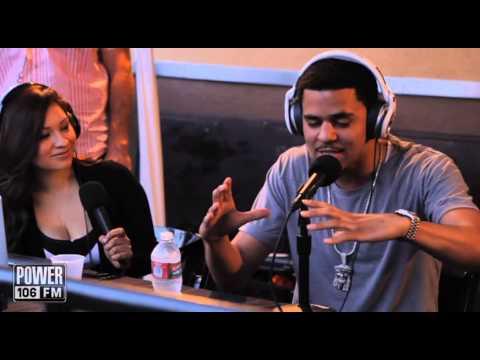 J. Cole Speaks On His Alicia Keys Crush At Backstage Breakfast