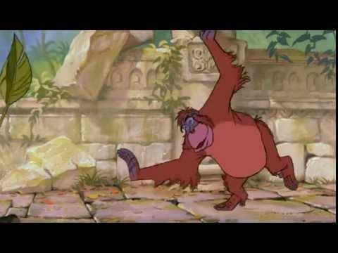 The Jungle Book I wanna be like you King Louis