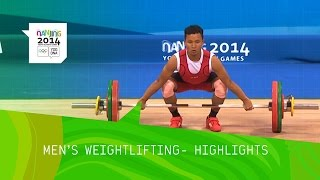 Meng Cheng Wins 56kg Weightlifting Gold - Highlights | Nanjing 2014 Youth Olympic Games