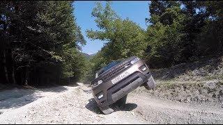 Lexus LX 570 vs Range Rover Sport В ГОРАХ. Сочи