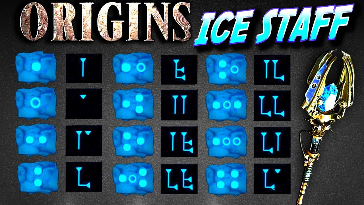 Ice staff origins zombies how to build and upgrade tutorial ull   arrow also rh youtube