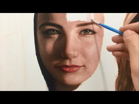 Real-time painting 2 : Hyperrealistic Art - Millani