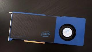 Intel Larrabee Prototype Test Launch + Disassembling