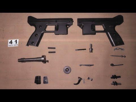 Gun manufacturer sentenced to 7 years for trafficking Tec-9 pistols