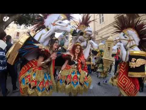 Carnival in Valletta