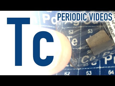 Technetium (new video) - Periodic Table of Videos