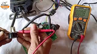 how to check inverter refrigerator identify PCB board & refrigerator repair