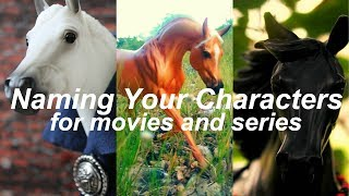 How To Give Your Model Horses Names (breyer series and movies)