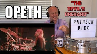 Drum Teacher Reacts: MARTIN AXENROT   OPETH 'The Devil's Orchard' (LIVE AT RED ROCKS AMPHITHEATRE)
