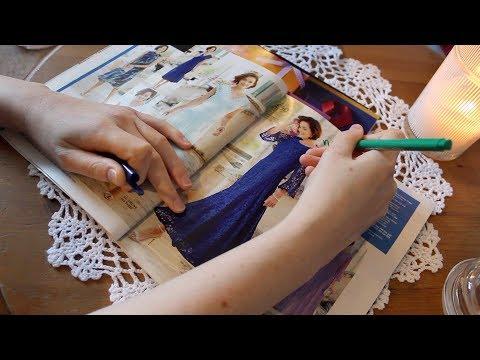 ASMR Shopping Magazines & Pen Highlighting | No Talking