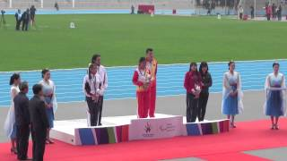 2014 Asian Para Games -- Athletics Women