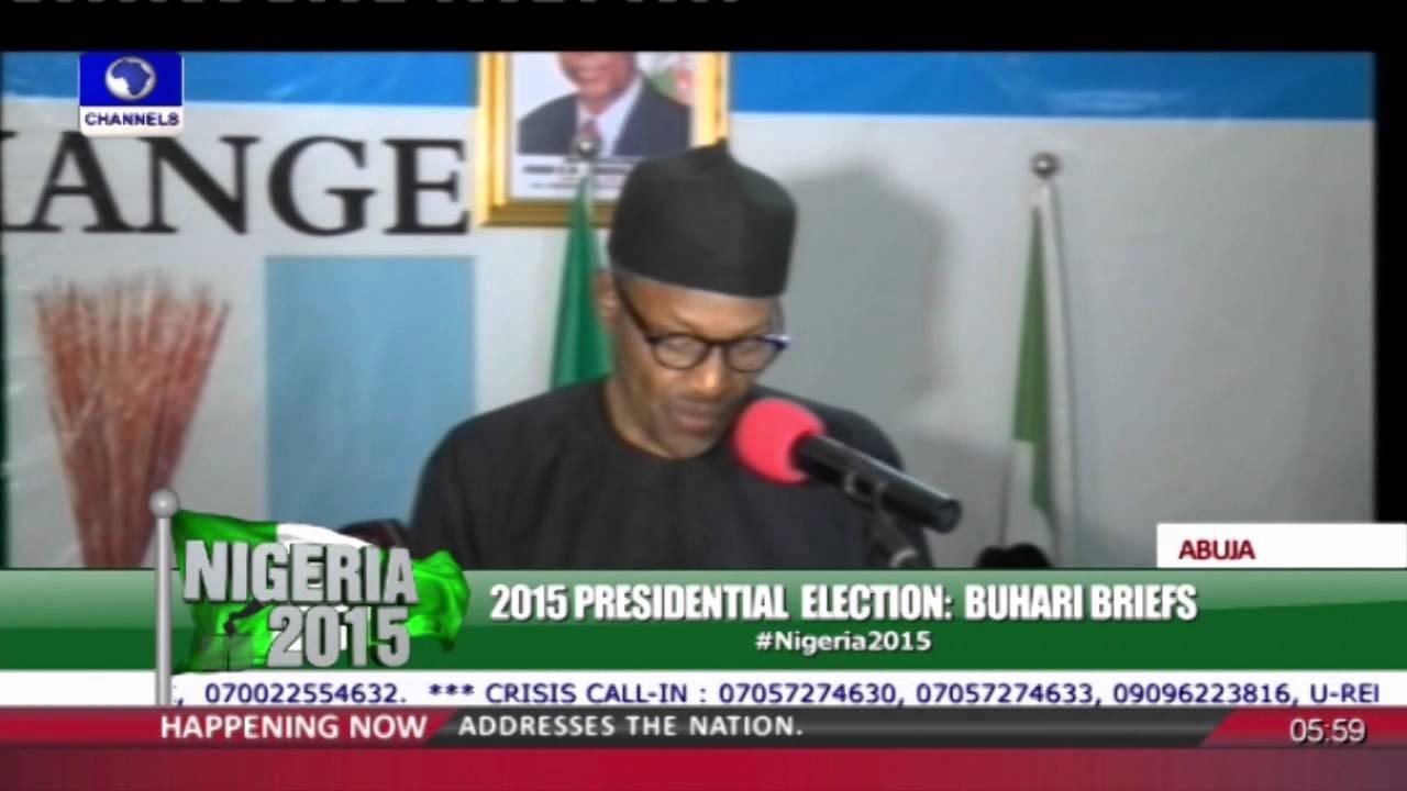 Download Gen Muhammadu Buhari Acceptance Speech