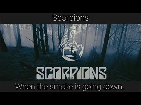 Scorpions - When The Smoke Is Going Down (subtitulos español-inglés)