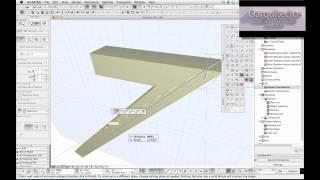 tutorial archicad 16 morph 1 herramienta forma garquitectos