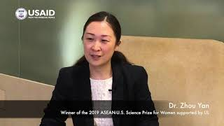 Dr Zhou Yan of Singapore_Winner of 2019 ASEAN-US Science Prize for Women (2)
