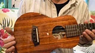 USED/Kanile'a K-1C DELUXE Concert @ukuleleshoptantan