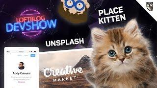 DevShow #9: Котики, Creative Market, Стоян Стефанов и крутые JavaScript-фоны