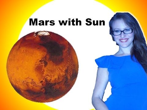 Sun with Mars. Sun Mars Aspect. Combust Mars