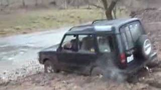 Jeep and Land Rover Winter Off Road Part 2