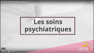 Formation troubles psychiques en e-learning