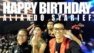 Video VLOG #8 : Pesta Ulang Tahun Aliando Syarief - The Biggest Concert MAGICALIANDO download MP3, 3GP, MP4, WEBM, AVI, FLV September 2018