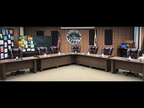 Rialto Board of Education Meeting 4-19-17