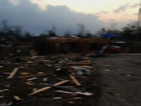 Tornado Kills Four in Southern Mississippi
