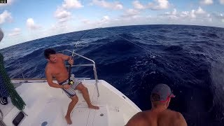 Crossing The Atlantic - Sailing King Lewis (Lagoon 450)
