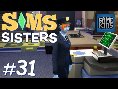 MILLIE MAD COP - Sims Sisters Episode 31