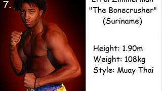 top 10 most excİting HW k-1 fighters of all-time (not named Hoost)