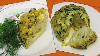 How To Make Whole Roasted Cauliflower With Curry And Cheese - Simple Homemade Recipe Tutorial