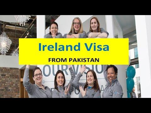 IRELAND - visit visa requirements - Pakistan