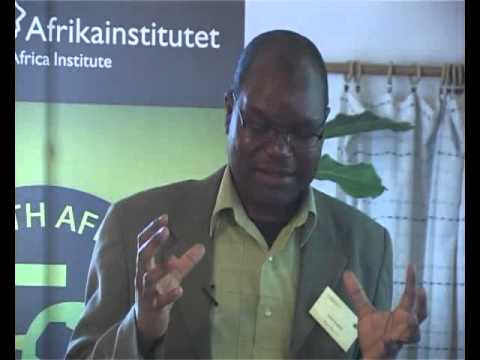 """Amin Kamete: """"On urban planning, informality and the 'polis' in Southern Africa"""""""
