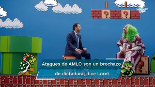 """Brozo y Loret coincidieron en que el ataque a la UNAM por parte de AMLO sirve como un distractor, pues """"su desapego a la realidad ya te lleva a mundos de fantasía"""""""