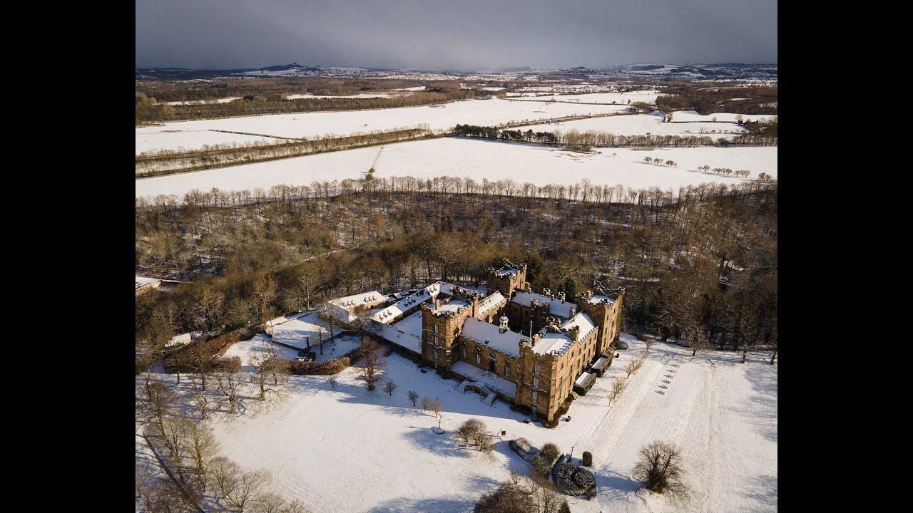 A Super-Snowy Lumley Castle