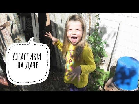 Ужастики для детей.  Алиса и Кирилл  монстрики на даче!!!!