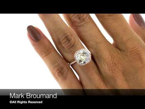 Mark Broumand -  3.56ct Old European Cut Diamond Engagement Ring