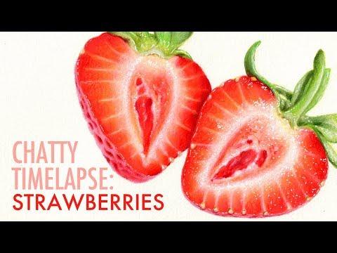 Painting Strawberries & Launching a Skillshare Class