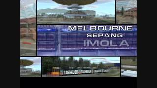 Formula One 2001 Introduction Movie (Playstation 2) HD!