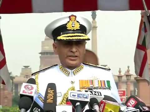 New chief takes charge of Indian naval force