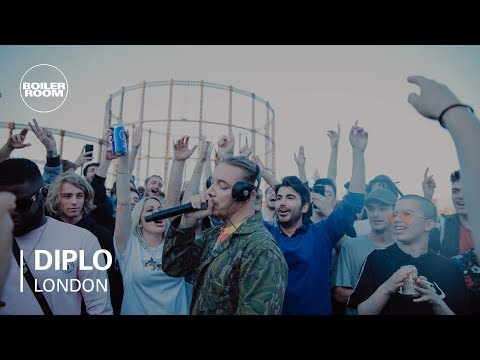 Diplo Rooftop Party Mix  Boiler Room HQ