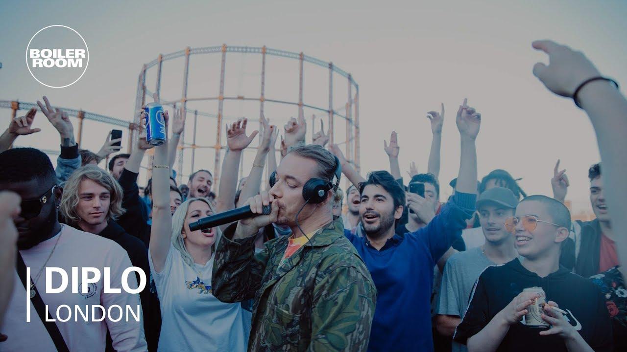 Diplo Rooftop Party Mix | Boiler Room ile ilgili görsel sonucu