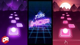 Tiles Hop: EDM Rush! (By AMANOTES) iOS/Android Gameplay Video