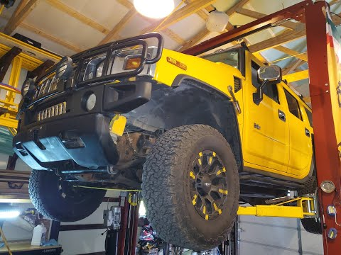 Hummer H2 Transmission Pan Replacement in under 39 minutes